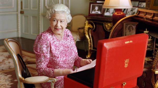 Britain's Queen Elizabeth II in July 2015. AP photo / Mary McCartney