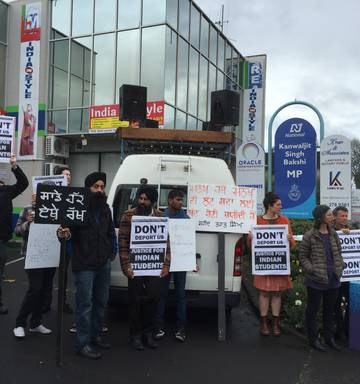 Students target Indian MP to fight deportation - NZ Herald