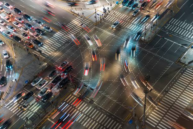 Taking inspiration from the constant gap between individual ants, Prof Nishinari said motorists should do the same. Photo / Getty Images
