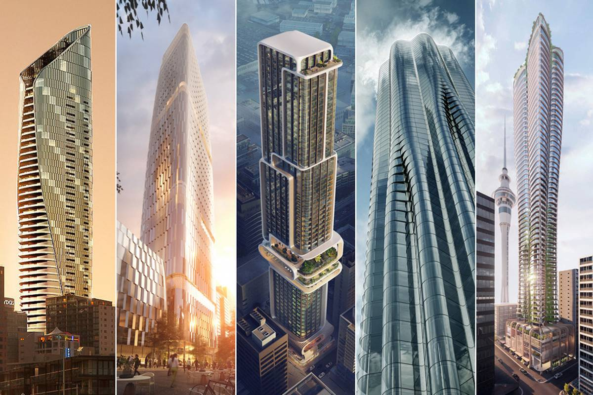 International architects compete for chance to design Auckland high-rise tower