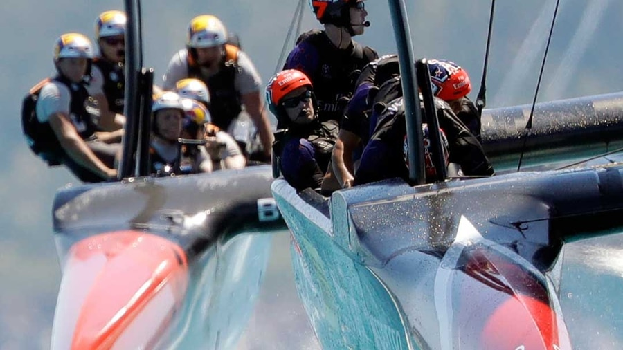 America's Cup: New Zealand sail to victory with crushing win over US