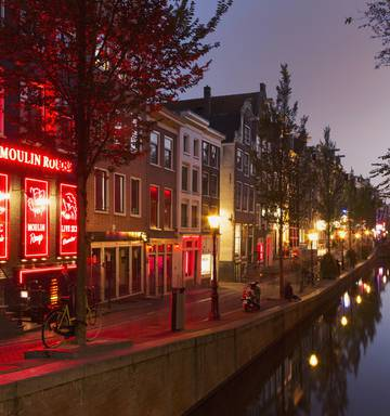 Appalling Truth About Amsterdam S Red Light District Nz Herald