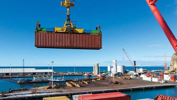 Sales of land for logistics purposes related to its port operations are booming at Napier. Photo / Supplied