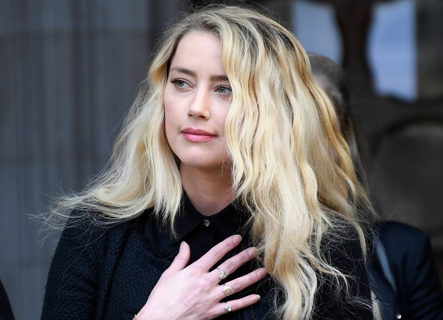 American actress Amber Heard, former wife of actor Johnny Depp. Photo / AP