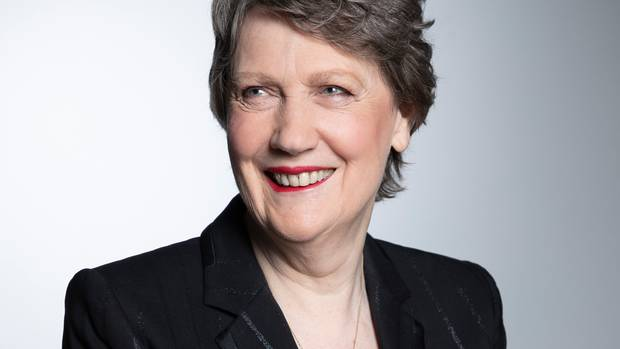 Former Prime Minister Helen Clark has waded into the Ports of Auckland waterfront debate. Photo / Greg Bowker
