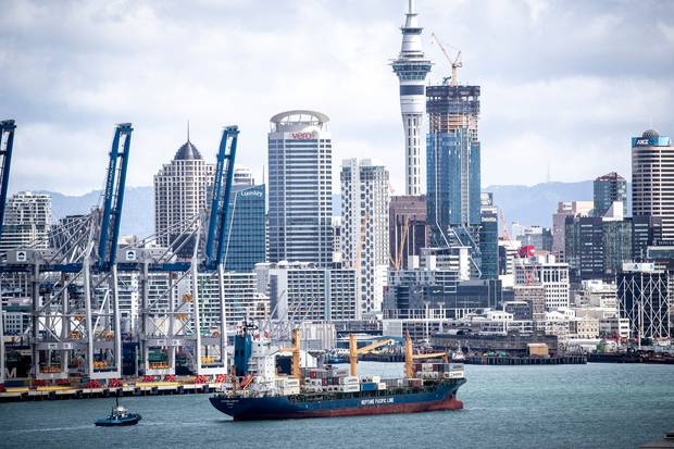 Ports of Auckland has 25-30 years of life left in it, says Auckland Business Chamber. Photo / Michael Craig