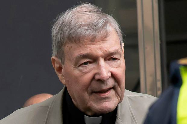 Cardinal George Pell was found guilty of abusing two choirboys in March. Photo / AP