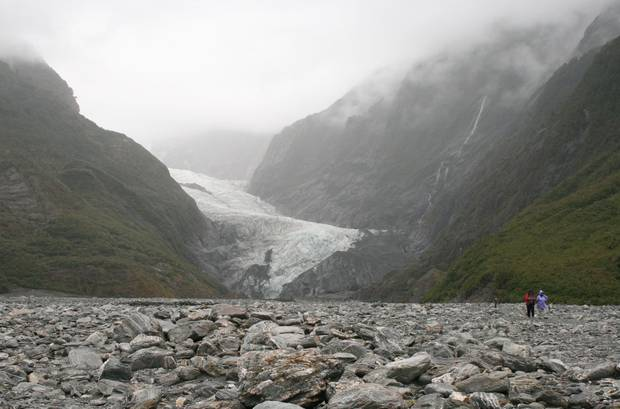 New Zealand's glaciers have lost at least a quarter of their ice in just 40 years. Photo / File