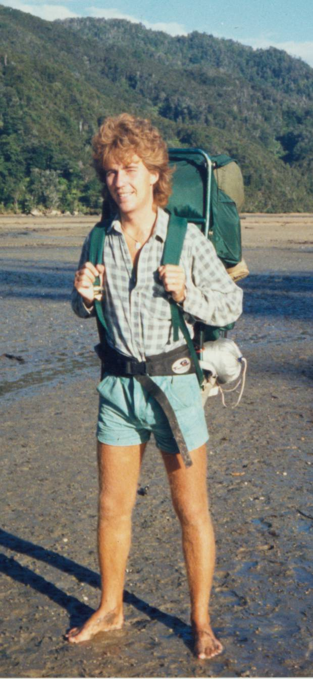 Swedish tourists Urban Hoglin (pictured) and Heidi Paakkonen went missing in the Coromandel bush in 1989. Hoglin's body was found in 1991. David Tamihere was convicted of their murder.
