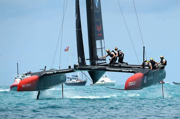 America's Cup skipper Spithill joins Italy's Luna Rossa