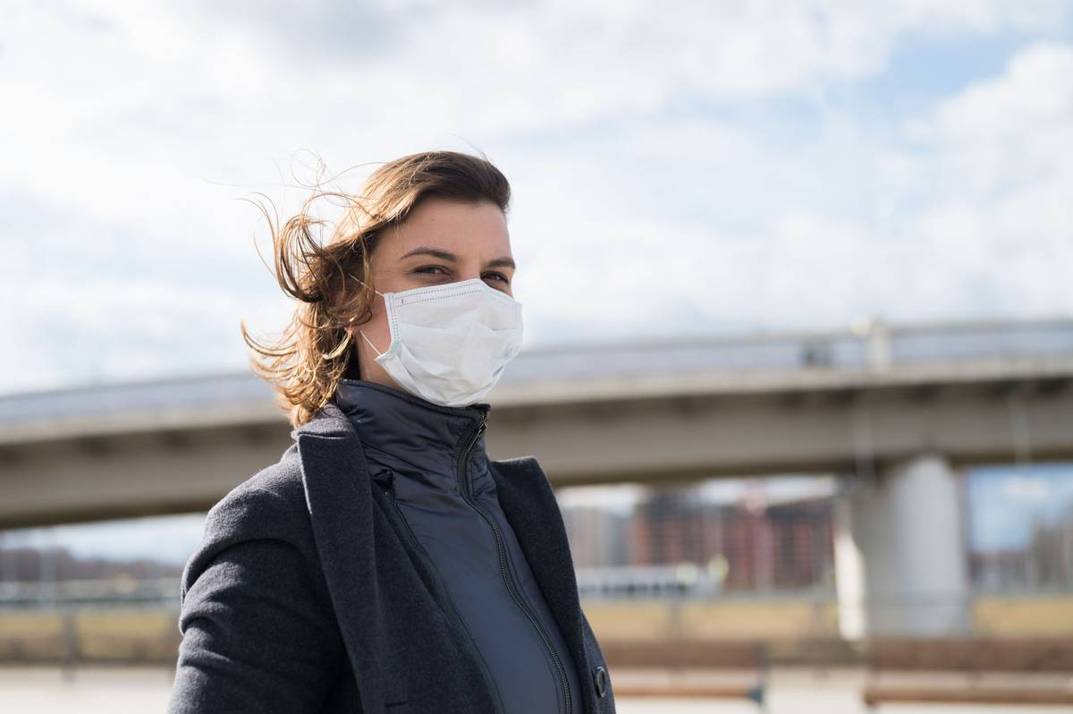 Nicola Alpe: How wearing a mask became a political statement