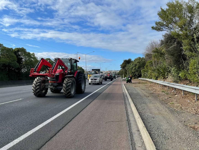Heavy traffic in Auckland's State Highway 1 City bound. Photo / Emma Olsen