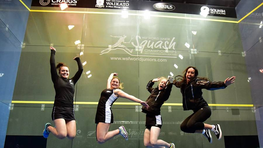 Malaysia finish runner-up to Egypt in girls squash world championship