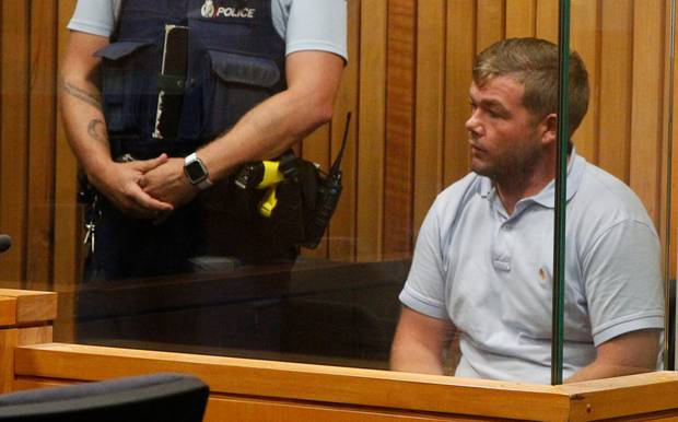 Patrick Quinn, pictured in in the Whanganui District Court. Photo / Stuart Munro