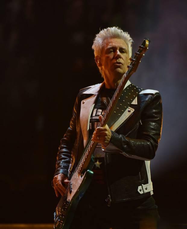 Adam Clayton of U2. Photo / Getty Images.
