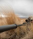 New Zealand Army Private Wharehoka of 2/1RNZIR uses a Barrett M107A1 at Waiouru training area. Photo / NZDF.