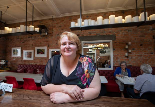 Nataliya Shchetkova at her restaurant La Vista in St Heliers, Auckland. Photo / Brett Phibbs