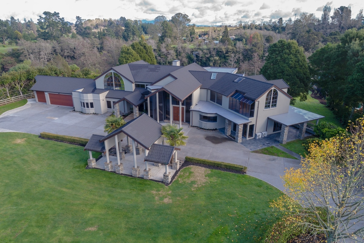Waikato's largest riverside mansion boasting boat ramp and indoor pool for sale