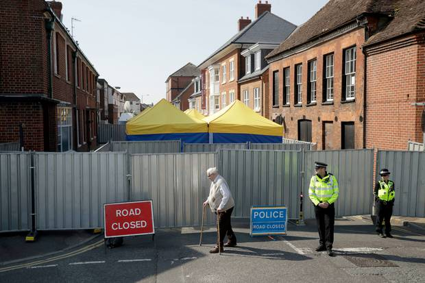 British Police Identify Russian Suspects In Novichok Attack