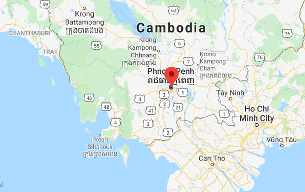 New Zealand man, 56, arrested in Cambodia after allegedly stabbing girlfriend in head with scissors
