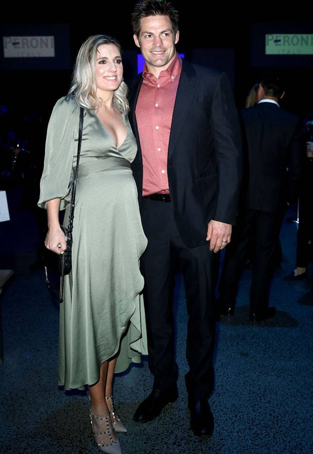 Gemma and Richie McCaw at New Zealand Fashion Week's opening show. Photo / Getty Images