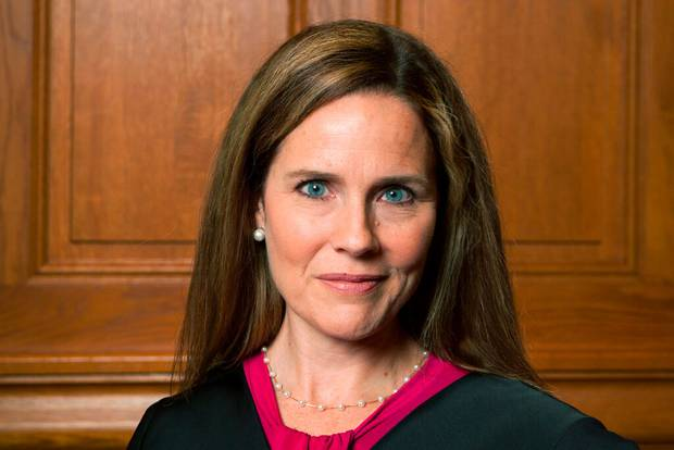 Judge Amy Coney Barrett. Photo / AP
