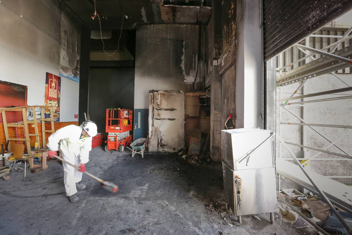 Inside Hawkes Bay Opera House After Arsonists Set Fire Nz Herald Wiring Code Colours