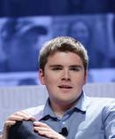 John Collison, President & co-founder of Stipe speaks at Forbes Under 30 Summit at Pennsylvania Convention Centre in 2015 in Philadelphia, US. Photo / Getty