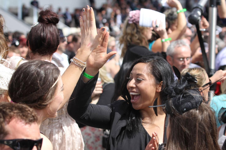 Punters enjoying the annual races last year. Photo / NZME