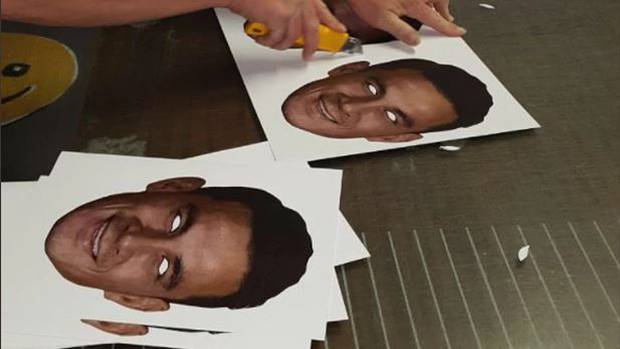The Sonny Bill masks has fuelled up the controversy all over again. (Twitter)