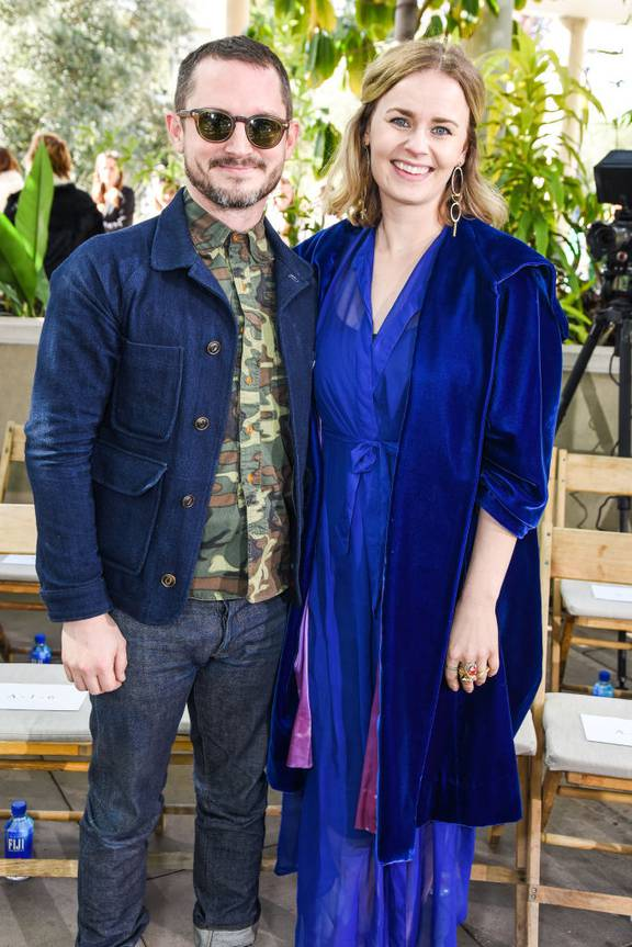 Come To Daddy Elijah Wood And Danish Film Producer Partner Mette Marie Kongsved Welcome First Child Nz Herald