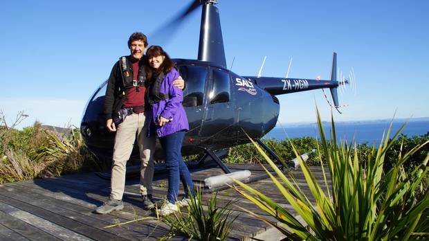 The Rainiers said they love New Zealand for its big walks and its wildlife. Photo / Supplied
