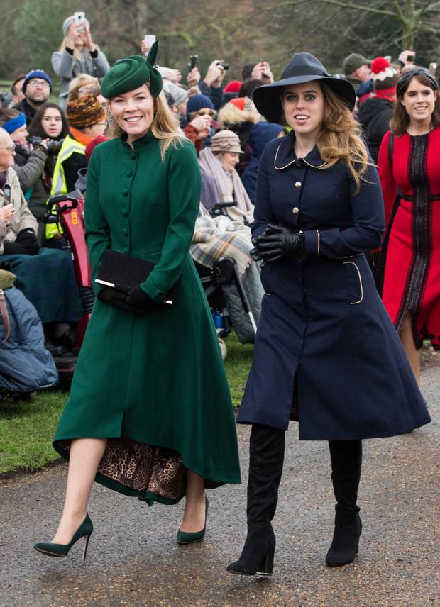 Autumn Phillips and Princess Beatrice were also in attendance at the Christmas service. Photo / Getty