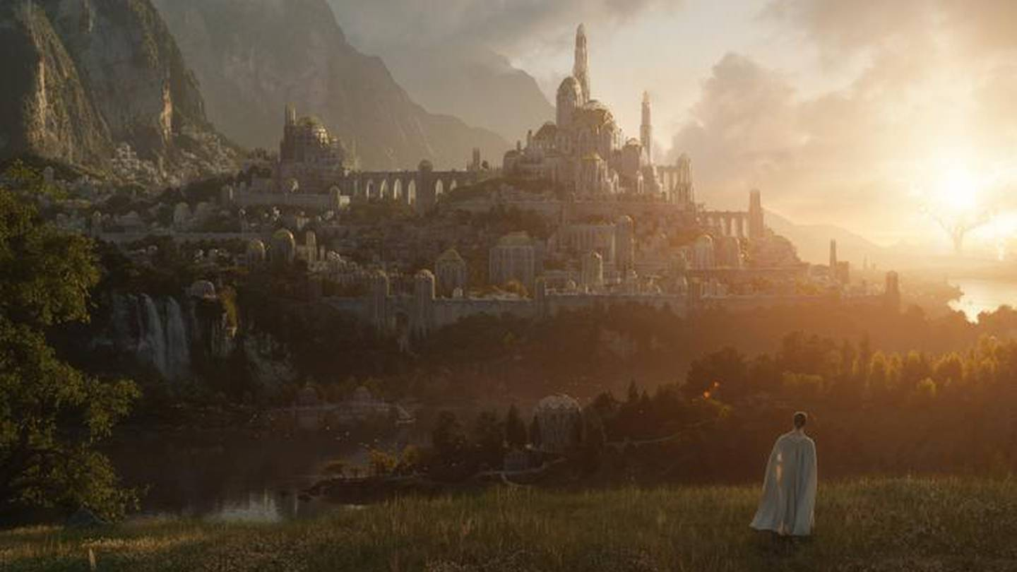 The first image released from Amazon's new Lord of the Rings TV series. Photo / Supplied