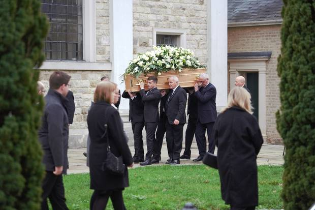 Grace Millane's funeral was held earlier this year in Brentwood, Essex. Photo / Supplied