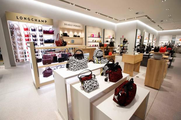 David Jones' Auckland store will sell more than 400 international, Kiwi and Australian high-end brands. Photo / Brett Phibbs