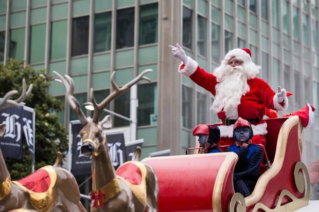 Auckland Santa Neville Baker says Santa shouldn't stray from tradition. Photo / Jason Oxenham