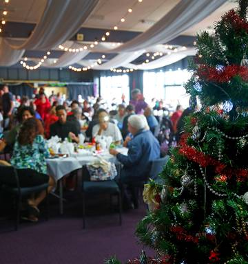 ... More than 600 guests and volunteers came together in Whanganui yesterday for thre City Mission's annual