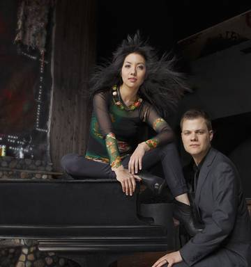 Dynamic Anderson & Roe Piano Duo promise keyboard contest