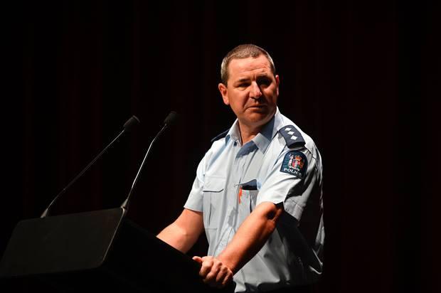 Area commander Inspector Clifford Paxton. Photo / George Novak