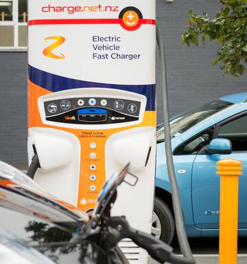 Z Shifts Up A Gear With City Ev Chargers Nz Herald