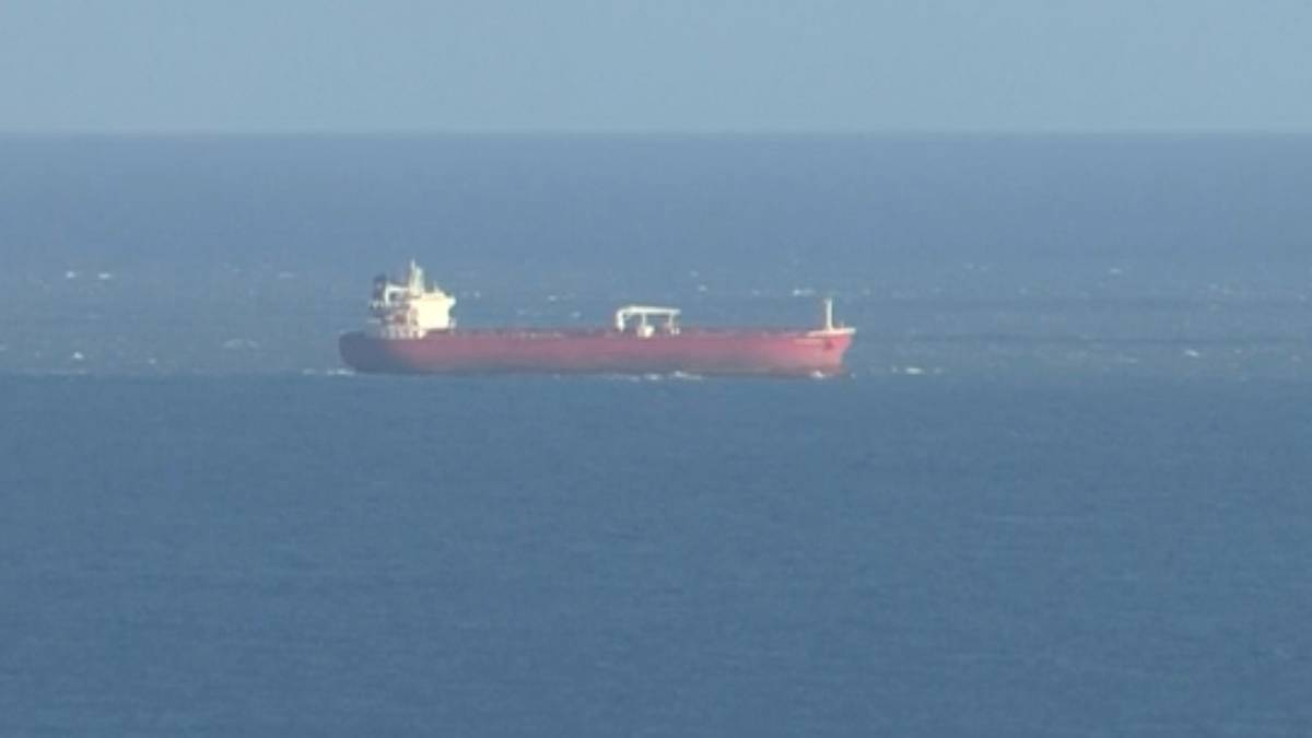 British police respond to tanker stopped in English Channel