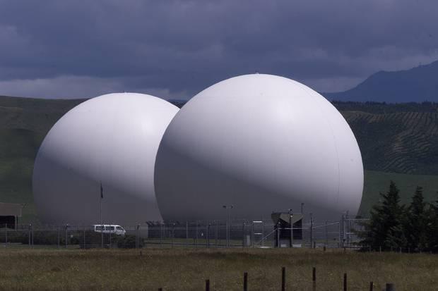 The Waihopai Valley Satellite Station near Blenheim. Photo / Mark Mitchell