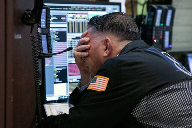 The sudden slowing has fed into a global financial sell-off that has driven several US stock indexes into or near
