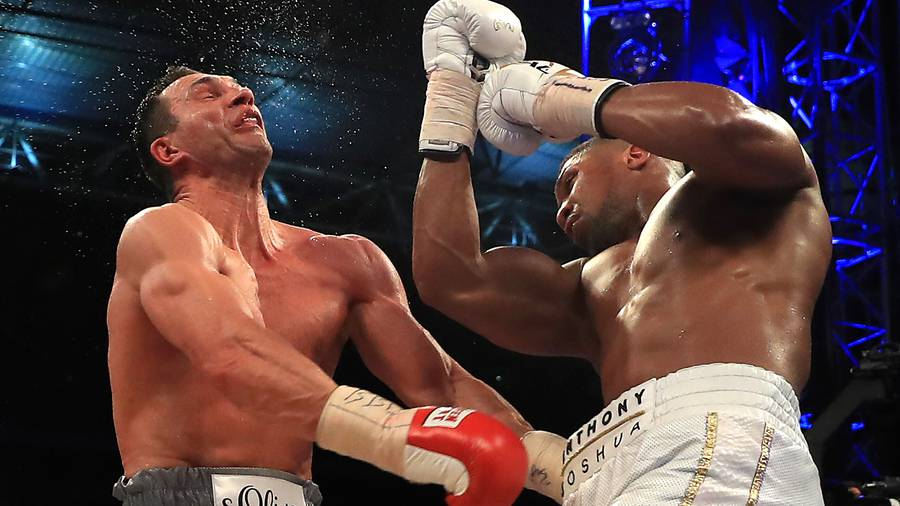A rematch Klitschko-Joshua is scheduled for November 11