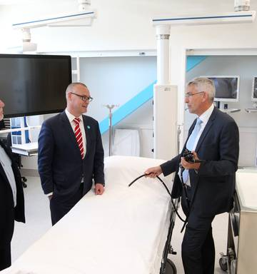Gastroenterology and endoscopy building opens at Hawke's Bay