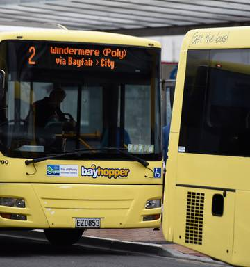 Days Of The Printed Bus Timetable Appear To Be Over In Bay Of Plenty