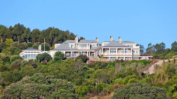 The grand Waiheke Island mansion, under contract.