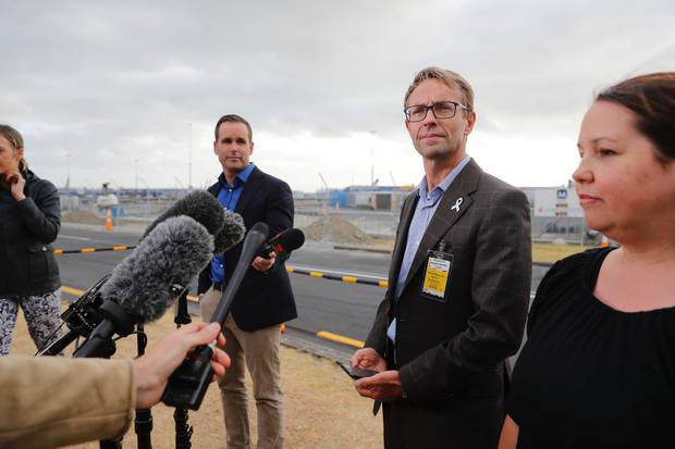 Dr Ashley Bloomfield, Director General of Health, speaks to media this week. Photo / Dean Purcell