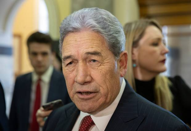 NZ First Leader Winston Peters remains steadfast in his defence, telling media at Parliament any notion of wrongdoing by NZ First was